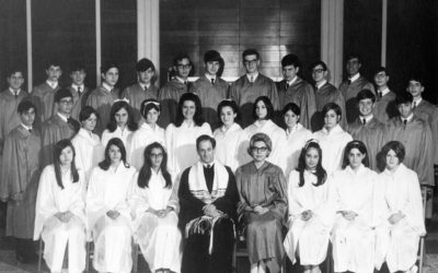 Temple Beth Am Confirmation Class,1971