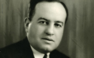 Harry Altman Owner of Glen Park Casino and the Town Casino, photograph made c.1940
