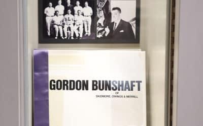 Gordon Bunshaft Display, in the Benjamin and Dr. Edgar R. Cofeld Judaic Museum